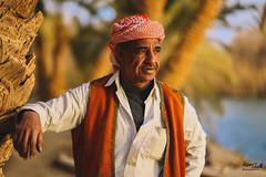 Siwian Man (Hossam Ghaith) Tags: man badouian landscape hossam ghaith canon eos 6d ef 85mm f18 usm natural light nature island siwian travel sunset sun tree portrait people siwa oasis western desert fatnas fine art egypt this is face faces egyptian sundown sharpness