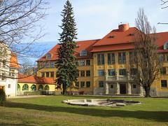 Gymnasium (germancute) Tags: outdoor arnstadt thuringia thüringen tree town neideck building school