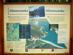 Canadian Lakes (matlacha) Tags: canada lakes water boats trip nature wildlife birds roadtrip signs travels vacations alberta