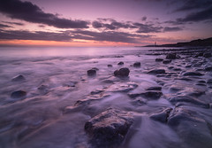 Rhoose Beach (Welsh Photographer) Tags: rhoose beach sea seascape ocean wales welsh uk british landscape sunset color colour pentax k1 tokina 2035mm formatt hitech benro