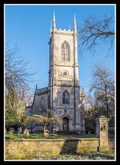 West Front (veggiesosage) Tags: stmarymagdalene stapleford leicestershire churchesconservationtrust church fujifilm fujifilmx20 x20