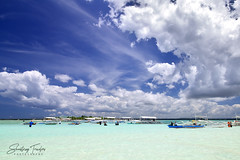 Clouds Over Virgin Island (engrjpleo) Tags: virginisland bohol panglao cloud water waterscape sea seascape sky boat landscape sandbar island outdoor seaside coast centralvisayas philippines southeastasia