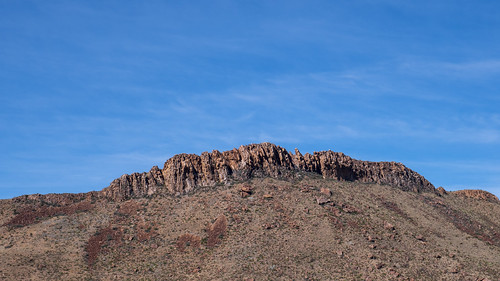 Rock Outcropping - Big Bend NP