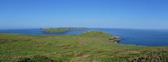 View towards Skomer Island Pembrokeshire Wales - may18 (4) - Explored (Ann Collier Wildlife & General Photographer) Tags: wales pembrokeshire uk coastline walking sea seascape landscape