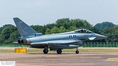RAF Typhoon (M J Robinson Photography) Tags: 2018 arrivals riat royalinternationalairtattoo raf fairford thursday britain british air force royalairforce eurofighter typhoon fgr4 zk378 attack fighter jet aviation photography nikon d7100 nikond7100