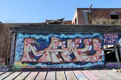 Pispala rooftop (Thomas_Chrome) Tags: graffiti streetart street art spray can wall walls fame gallery hof pispala tikkutehdas tampere suomi finland europe nordic legal rooftop