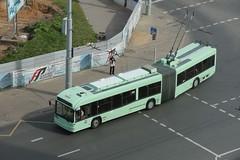 2018-09-10, Minsk, Ulitsa Tolstogo (Fototak) Tags: trolleybus filobus obus belarus minsk bkm 2301