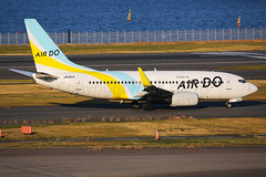 Air Do Boeing 737-781 JA15AN (Mark Harris photography) Tags: spotting hnd plane boeing 737 canon 5d japan