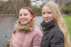 2/52 Treasured. (Suggsy69) Tags: nikon d7200 treasured memories daughters sisters prouddad 252 52weekproject week22019 startingtuesdayjanuary082019 52weeksthe2019edition outside outdoors sundaywalk portrait