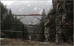 rainy Falkensteinbrücke II (Stephan Kainberger) Tags: tauernbahn eisenbahn falkensteinbrücke öbb taurus