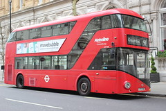 Metroline . LT748 LTZ1748 . Northumberland Avenue , Charing Cross , London . Saturday 23rd-March-2019 . (AndrewHA's) Tags: charing cross london bus metroline nbfl lt 748 ltz 1748 hybrid tfl route 91 crouch end