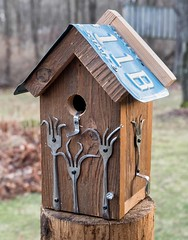 PC180029 (bvriesem) Tags: bird house birdhouse craft wood carpentry