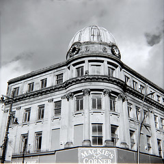 Mackie's Corner, Sunderland (MikeOB64) Tags: vintage camera zeiss nettax square medium format fp4 ilfordfp4