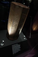 Cuneiform chronicle column (PChamaeleoMH) Tags: assyrian britishmuseum cuneiform exhibition london museum