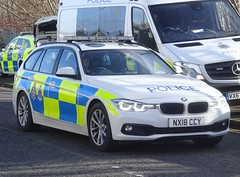 Cleveland Police & Durham Constabulary (NX18 CCY) (ferryjammy) Tags: durham cleveland nx18ccy police