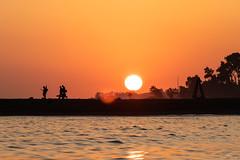 Spanish Sunset (dan.newton) Tags: orangesky silhouette spain españa marbella