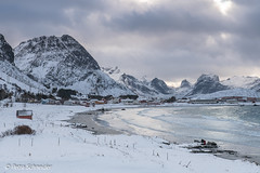 Beach of Ramberg, Lofoten (Petra S photography) Tags: ramberg rambergbeach dramaticsky beautifullight beach winterday winterstimmung winterlandschaft wintermood winter lofoten lofotenislands flakstadøya norge norway nordnorwegen northernnorway nordland