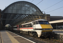 91119 (Lucas31 Transport Photography) Tags: intercity class91 trains railway 91119 lner kgx london