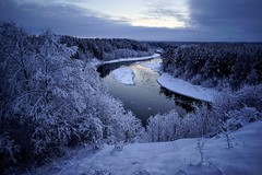 unspoiled (daimak) Tags: lithuania nature landscape snow winter river view island riverisland unspoiled untouched