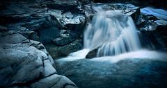Badgastein - at the Waterfall-track (W.MAURER foto) Tags: wasserfall cascade badgastein salzburg water blue softwater tripod nature river fluss rocks flussbett österreich austria fujix100f fuji