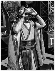 Virtual Anachronist (evanffitzer) Tags: fujix100s fujifilmx100s ka bw blackandwhite mono bnw monochrome streetphotography virtual lasvegas vegas outdoors goggles sight seeing 3d evanfitzer evanffitzer photography photographer lightroom
