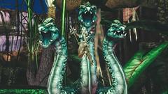 Can you defeat us? (Angel Neske) Tags: angel hydra mythology magic war fight warrior fantasy rp sl devil landscape trident pitchfork