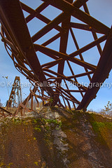 Twisted Metal and Rust (keegsley) Tags: kinzua bridge viaduct mckean county pennsylvania rust metal abandoned destruction train railroad architecture
