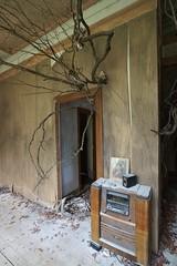 His room radio installation, Burnham Beeches (Joe Lewit) Tags: variosonnart281635 burnhambeeches sherbrooke victoria art installation rone empire artdeco radio