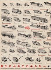Wiking-1965-2 (adrianz toyz) Tags: wiking west germany berlin plastic models 187 ho 190 catalogue brochure list 1965 model adrianztoyz scale verkehrs modelle car bus truck lorry van prospekte