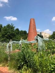 cheminée-et-végétation© (alexandrarougeron) Tags: photo alexandra rougeron urbain ville paris