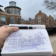 University of Georgia - Athens, GA (schunky_monkey) Tags: pleinair fountainpen penandink ink pen illustration art journal drawing draw urbansketching sketchbook sketching sketch brick buildings architecture campus georgia athens universityofgeorgia uga