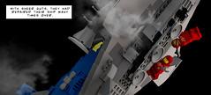 18 SINGLE composite 2 modern (alexeiberteig) Tags: neoclassicspace space lego spaceship spacecraft legoship bennysspaceship 40th anniversary legoideas