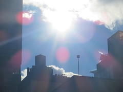 2019 February Monday Sun - President's Day 2019 (Brechtbug) Tags: 2019 february monday sun virtual clock tower from hells kitchen clinton near times square broadway nyc 02182019 new york city midtown manhattan winter weather building breezy cloud hell s nemo southern view