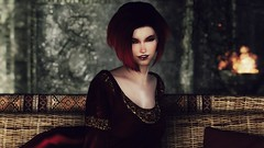 72850_20190220014101_1 (SasakiPajero) Tags: enb elder 3d screenshot skyrim scrolls snapdragonprimeenb shorthair smile tes tesv girl videogame v face portrait
