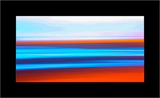 Coast Abstract Orange
