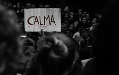 Calma (Xeviphotorider) Tags: people manifestación calma love amor