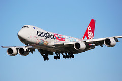 Cargolux Boeing 747-8R7F LX-VCM (Mark Harris photography) Tags: spotting lax la canon boeing 747 aviation plane cargolux 5d cutaway