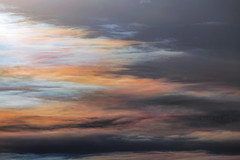 Rainbow Smear (Matt Molloy) Tags: mattmolloy photography colourful cirrus clouds iridescence rainbow spectrum sky light nature naturalphenomenon atmosphericphenomenon naturallight skyscape seeleysbay ontario canada trippy fun telephoto