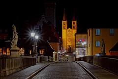 Downtown | Quiet Nights (picsessionphotoarts) Tags: festbrennweite bayern bavaria deutschland germany franken franconia nikon nikonphotography nikonfotografie nachtaufnahme langzeitbelichtung longtimeexposure nikond850 brücke afsnikkor85mmf18g würzburg primelens unterfranken altemainbrücke mainbrücke altemainbrückewürzburg