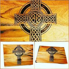 Celtic Cross Religious Wooden Engraved Chopping Board by Retrosheep.com #celtic #celticcross #pagan #viking https://ift.tt/2ubKFSw (RetrosheepCharms) Tags: retrosheep handmade gifts deals giftideas