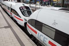 DB ICE Hamburg Hbf (daveymills37886) Tags: db ice hamburg hbf deutsche bahn baureihe 411