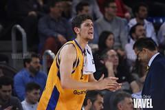 DSC_0336 (VAVEL España (www.vavel.com)) Tags: fcb barcelona barça basket baloncesto canasta palau blaugrana euroliga granca amarillo azulgrana canarias culé