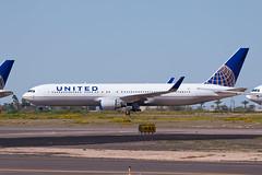 United Airlines Boeing 767-300ER N590HA (jbp274) Tags: gyr kgyr airport airplanes boneyard stored unitedairlines united ua boeing 767