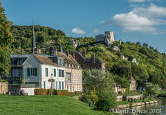 Château Gaillard at Les  Andelys (keithhull) Tags: lesandelys town riverseine normandy castle châteaugaillard france 2015