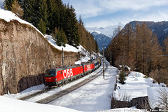 ÖBB 1293 005 + 014 - Gries am Brenner (FabioMiottoPhoto.com) Tags: öbb 1293 193 vectron gries brenner zug train rola rollende landstrasse treno ferrovia brennero