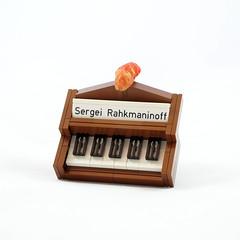 Piano Badge (Sergei Rahkmaninoff) Tags: lego moc system badge piano kraata