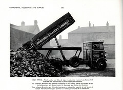 British Commercial Vehicles annual 1950 - Bromilow & Edwards tipping lorry body for Bradford Colliery Company Co Ltd., Manchester (mikeyashworth) Tags: mikeashworthcollection manchester bradford bradfordcollierycoltd bromilowedwards bolton truck lorry tippertruck coal coaltruck c1947