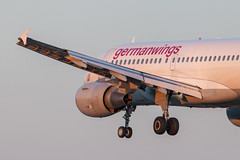 Hamburg Airport: Eurowings Airbus A319-112 A319 D-AKNJ operated by Germanwings (kevin.hackert) Tags: eos6dmarkii jets deutschland aviationphotography planespotters flugzeuge flughafenfuhlsbüttel ham hamburgairporthelmutschmidt planespotting sonnenuntergang canon planepictures flugzeug de luftfahrt hamburg flughafen flieger aviation planelovers apron hamburgairport aircraft spotter aviationdaily eddh sunset vorfeld