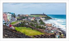 Old San Juan (Timothy Valentine) Tags: 0417 2017 ocean clichésaturday oldsanjuan castillosancristobal vacation castillosanfelipedelmorro sanjuan puertorico pr