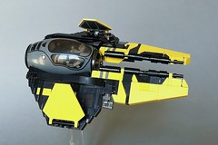 Eta-2 Actis-class Interceptor (Veynom) Tags: starwars lego moc starfighter actis eta2 jedi
